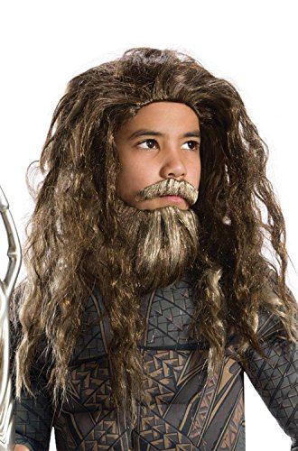 justice+league Products : Rubies JL Aquaman Child Beard and Wig-