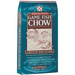 Mazuri Premium Game Fish Chow Fish - 50 lbs. with BONUS Promotional Magnet Calendar