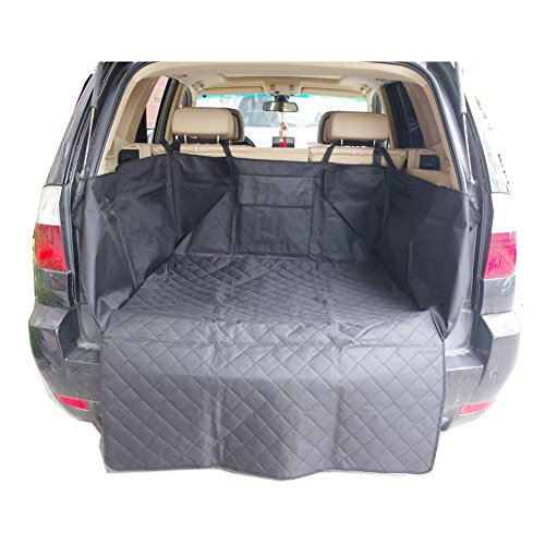 waterproof quilted dog cargo cover mat pet car cargo liner seat cover for cars suvs trucks. Black Bedroom Furniture Sets. Home Design Ideas