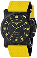 Swiss Legend Men's 40030-BB-01-YAS Sportiva Analog Display Swiss Quartz Yellow Watch from Swiss Legend