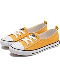 Fashion Canvas Flat Shoes for Women, Classic Casual...