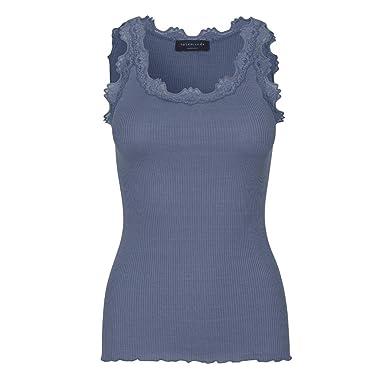 8b87d662f63036 Rosemunde Women's Silk Top Regular w/Vintage Lace at Amazon Women's  Clothing store: