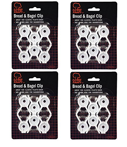 Chef Craft Bread & Bagel Clips - (Value Pack: 24 Count)