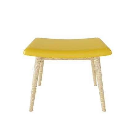 Amazon.com: KXBYMX Nordic Solid Wood Bedroom Vanity Stool ...