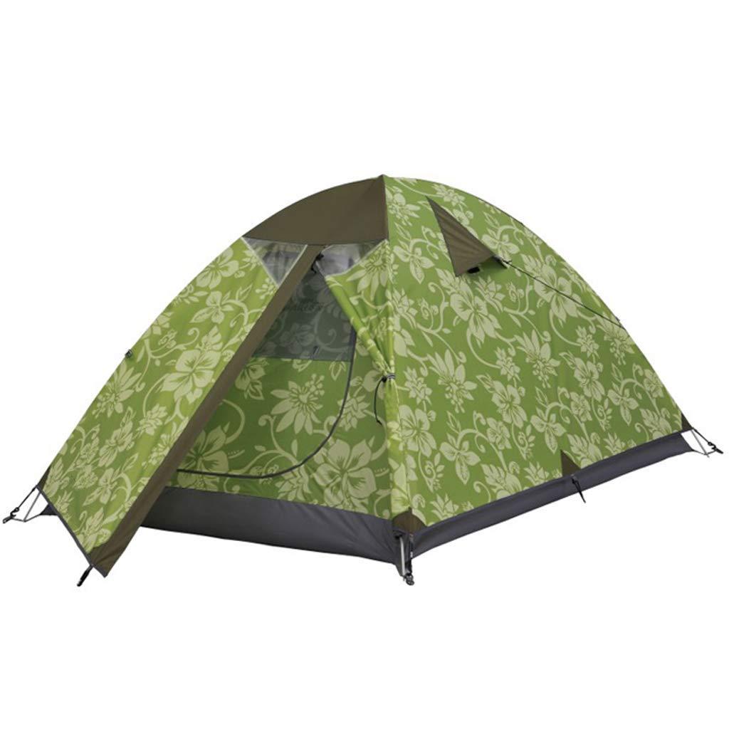 贈り物 キャンプテントダブルレインフェスティバル2-3人外光テント B07P2KRQGV、緑 B07P2KRQGV, CANVER-ONLINE キャンバー:67e08f86 --- ciadaterra.com