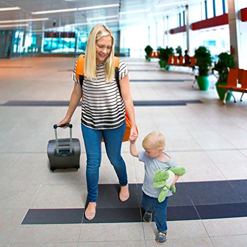 Car Seat Travel Bag -Make Travel Easier & Save Money. NEW IMPROVED Carseat Carrier for Airport - Protect your Child's CarSeats & Stroller from Germs & Damage. Easy Carry Padded Backpack by KangoKids (Image #6)