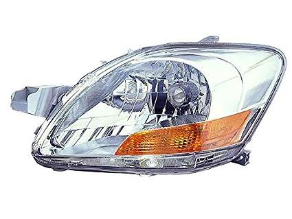 Amazon Com Toyota Yaris Sedan 07 08 09 2007 2009 Head Light Lamp