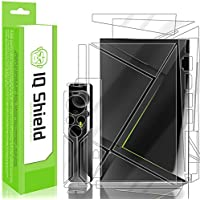 NVIDIA Shield TV Screen Protector, IQ Shield LiQuidSkin Full Body Skin + Full Coverage Screen Protector for NVIDIA Shield TV (2017,2nd Gen 16GB Version) HD Clear Anti-Bubble Film