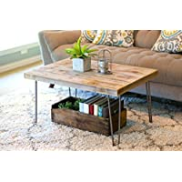 Industrial 36x24 Coffee Table