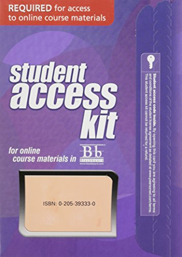 (Blackboard -- Access Card -- for Biology of Humans: Concepts, Applications, and Issues)