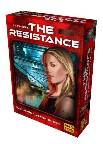 The Resistance 2nd Edition Board Game by The