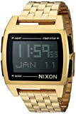 Nixon Men's 'Base' Digital Module Stainless Steel Casual Watch, Color:Rose Gold-Toned (Model: A1107)