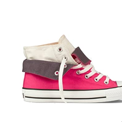 All Star Women's CT Two Fold Hi Raspberry and VA Size 11.5 132447f