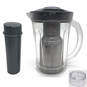 Joystar large 1500ml cup picther attachement &Juicer Attachment compatible with Original Nutri Bullet 600W 900W,replacement parts CUP SOYAMILK & JUICE EXTRACTOR for nutri bullet by joystar (1)