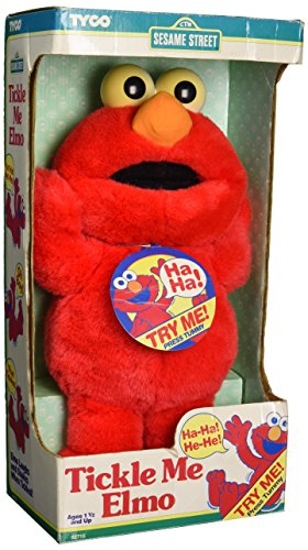 Tickle Me Elmo Original 1995 Vintage Plush Doll - Me Elmo