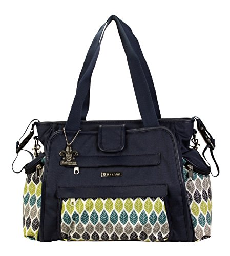 kalencom-nola-tote-diaper-bag-navy-feathers