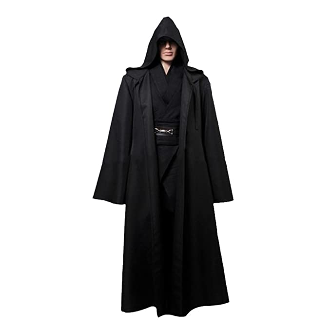 Amazon.com  Timall Halloween Cloak Cosplay Hooded Robe Cloak Cape Adult Men  Halloween Costume  Clothing 0f9b10de4