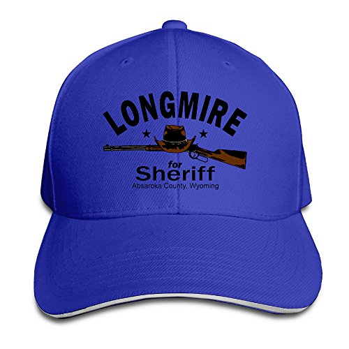 MARC Custom Longmire Unisex Baseball Hats Caps RoyalBlue