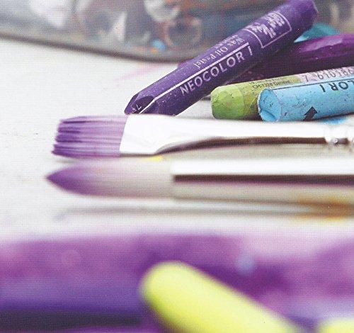 Neocolor I Water-Resistant Wax Pastels, 10 colors by Caran d'Ache (Image #1)