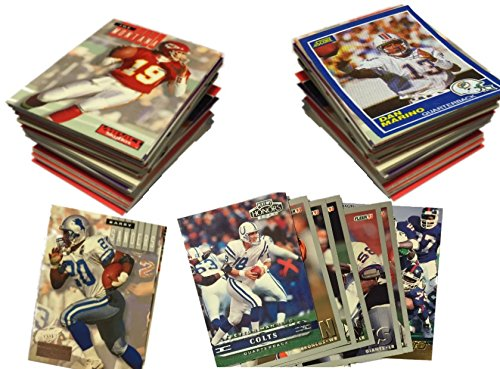NFL Football Card Collector Box: Over 500 Cards - Grab Box Lot - Warehouse Sale - Collectors Football