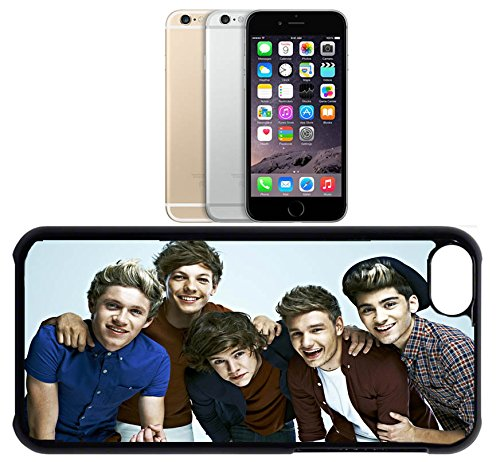 Cas de l'iPhone 6. Plastique noir avec High Gloss Imprime Inserer - 1D Group