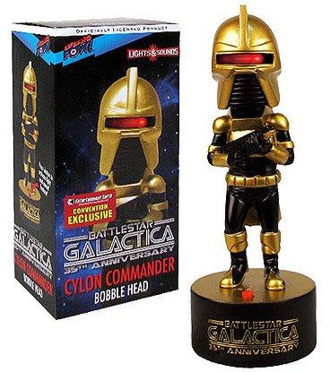 - Battlestar Galactica Cylon Commander Bobble Head - Exclusive