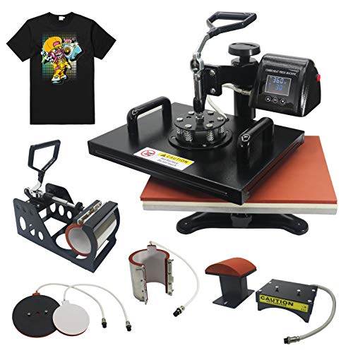 RoyalPress 5 in 1 Heat Press 13