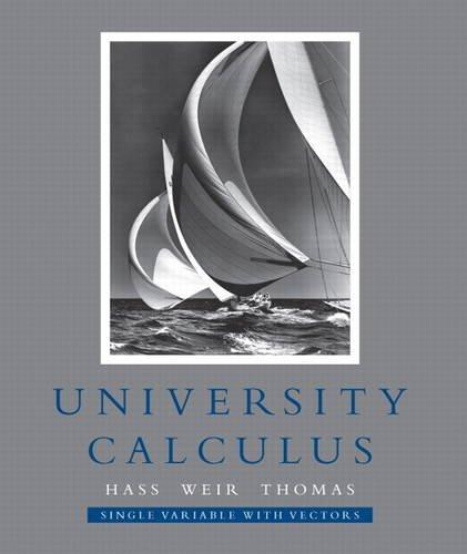 Calculus And Vectors Pdf