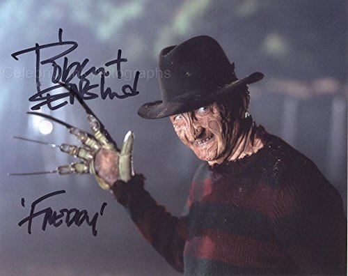 Robert Englund as Freddy Krueger – Nightmare On Elm Street Autograph