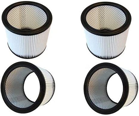 4-Pack HQRP Washable /& Reusable Filters for CHV 1400 1500 1560 1600 Vacuums