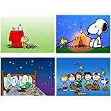 Set 4 Tovagliette Snoopy