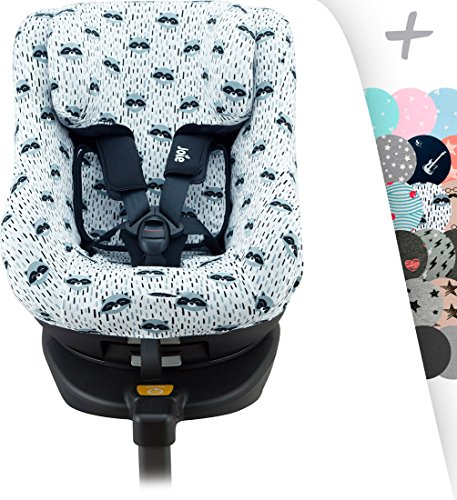 Beststar 5 in 1 Car Seat Cover,Baby Car seat Canopy,Nursing Cover//Nursing Scarf for Breastfeeding,Shopping Cart Covers Grocery Trolley Cover,High Chair Cover#3206 Black-white narrow stripe