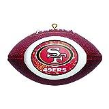 Boelter Brands NFL San Francisco 49ers Replica Football Ornament