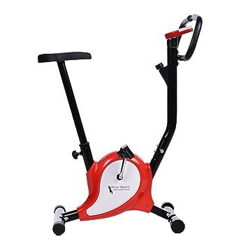 AMDirect Bicicleta Estática Spinning de Entrenamiento Plegable Bike de Fitness de Pierna con Asiento Ajustable para