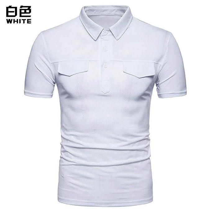 Camisa De Polo para Hombre De Verano Solapa Tamaños Cómodos ...