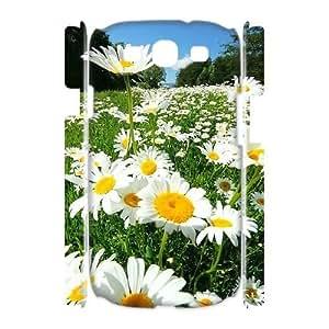 Hjqi - DIY Chrysanthemum 3D Phone Case, Chrysanthemum Personalized Case for Samsung Galaxy S3 I9300