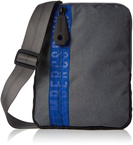 Man bag with shoulder strap BIKKEMBERGS item 7BDD8505 DB-ZIP 2.0 FLAT CROSSOVER (Men Bikkembergs Shoes)