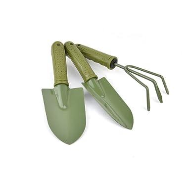 Gardening Plant Shovel Pot 3 pieces Small Gardening Tools Seed Handheld Shovel Rake Spade