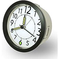 Reloj Despertador Analogico con función Snooze luz