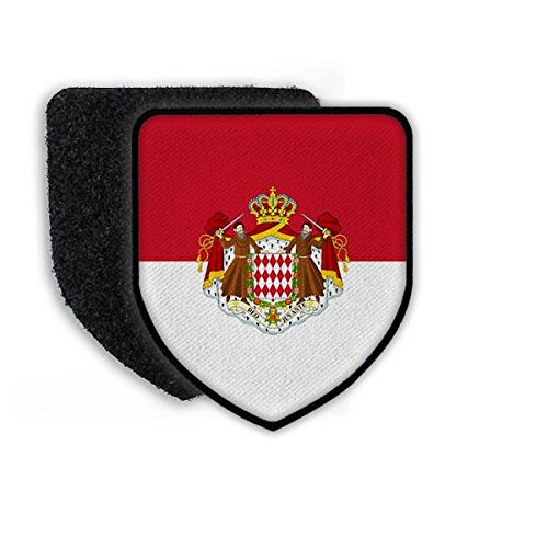Copytec Patch Flag of The Monaco Flagge Land Staat Nation Europa Aufn/äher Wappen Landesflagge Wappenzeichen#21374