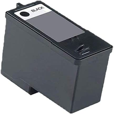 Black Color,2-Pack AB Volts Remanufactured Ink Cartridge Replacement for Dell DH828 /& DH929 for A966 A968 A968W