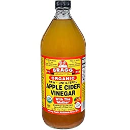 New! Bragg USDA Certified Organic Raw Apple Cider Vinegar W/ Mother | 32 Oz Bottle
