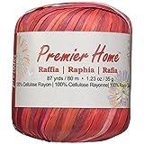 Premier Yarns Raffia Multis - Ovillo de Lana, Color Beige