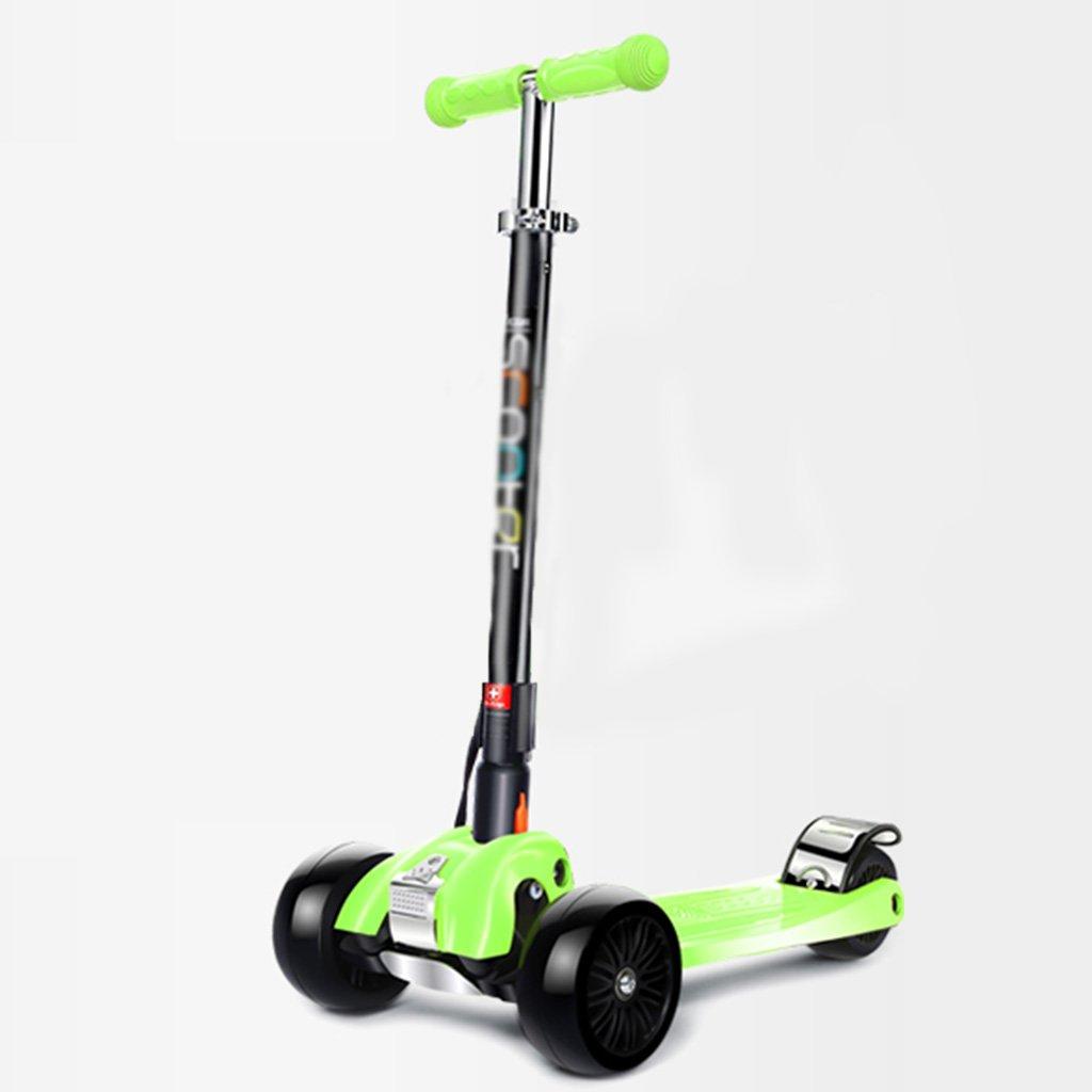 買取り実績  スチューデントスクーター多機能折りたたみ式持ち上げ三輪式ペダル乗り物ブロックは B07FZ7ND5C、フライングホイールが315歳で座ることができます B07FZ7ND5C Green Green Green Green, タオルの やす吉:743fa673 --- a0267596.xsph.ru
