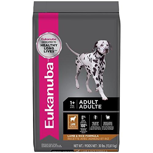 Rice Canine Formula (EUKANUBA Adult Lamb and Rice Formula Dog Food 30 Pounds)