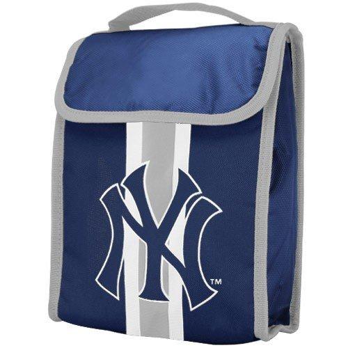 Yankee Lunch Box (MLB New York Yankees Velcro Lunch Bag)