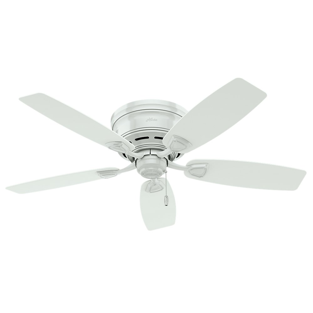 Hunter Sea Wind 48 White Ceiling Fan At Menards: Best Rated In Ceiling Fans & Helpful Customer Reviews