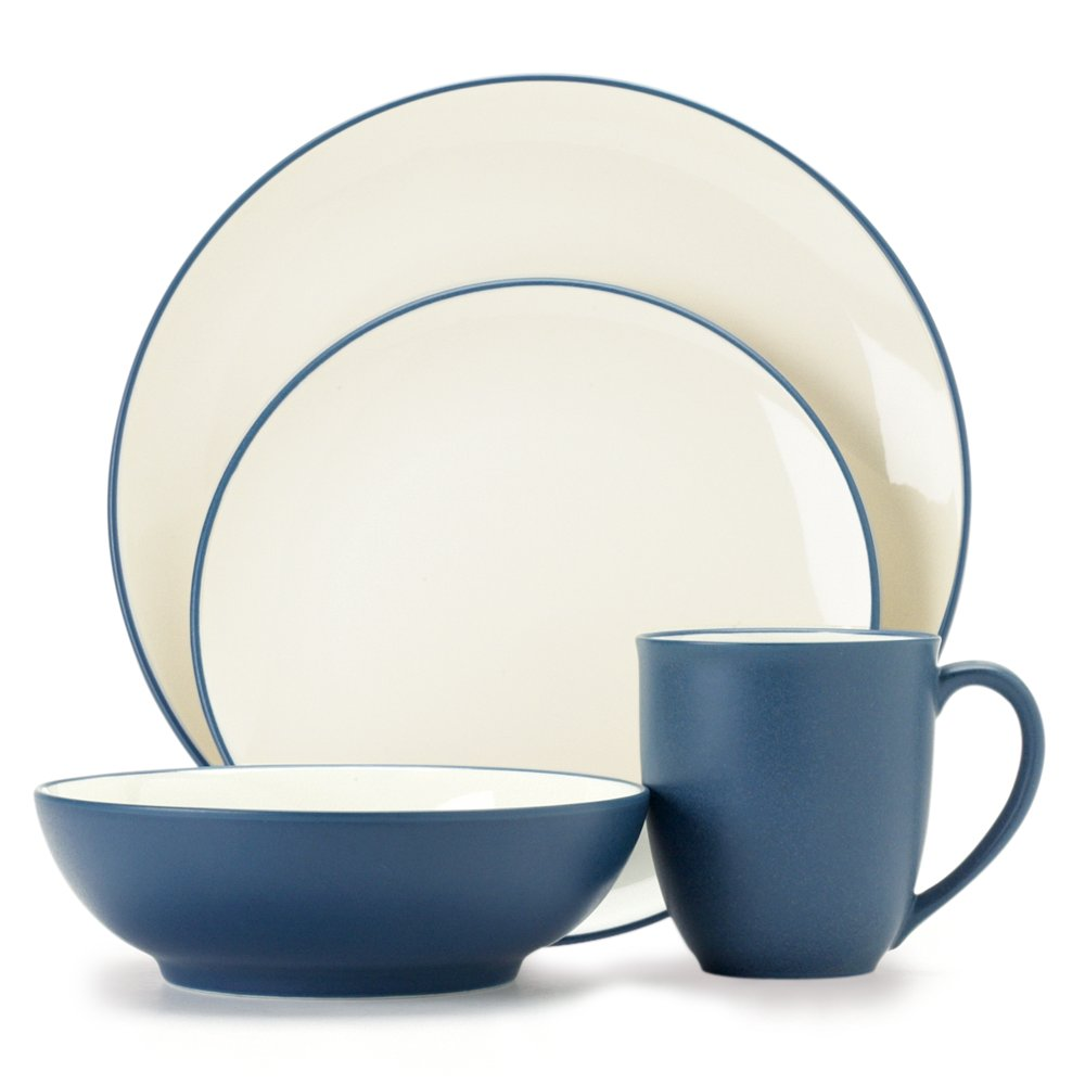 Amazon.com | Noritake Colorwave Chocolate 4-Piece Place Setting Dinnerware Sets Dinnerware Sets  sc 1 st  Amazon.com & Amazon.com | Noritake Colorwave Chocolate 4-Piece Place Setting ...