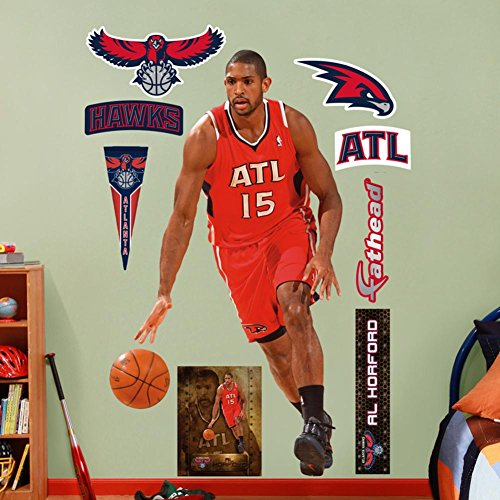 Atlanta Hawks Al Horford Wall Decal Sticker 43 x 78in ()