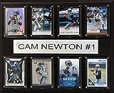 NFL Carolina Panthers Cam Newton 8-Card Plaque, 12 x 15-Inch